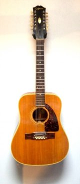 Used 1963 Epiphone BARD 12 string made in Kalamazoo SOLD...