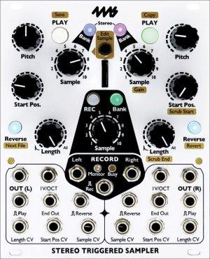 画像1: 4ms  Stereo Triggered Sampler (STS)