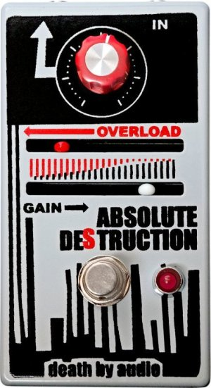 画像4: DEATH BY AUDIO  ABSOLUTE DESTRUCTION 発売中!