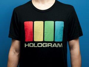 """画像2: HOLOGRAM """"HOLOGRAM""""ロゴ T-shirts"""