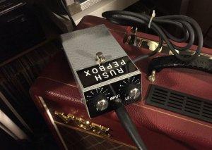 画像1: Rush PepBox by Pepe Rush オリジナル ブリティッシュ ファズ
