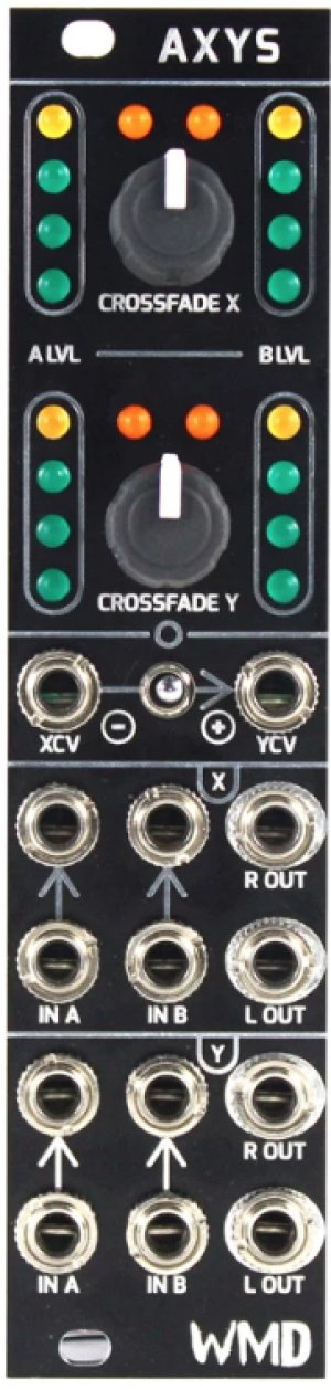 画像2: WMD AXYS  ステレオ クロスフェーダー(x 2)