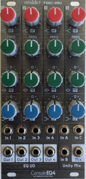 画像2: MODDICT / TDC-YOU CONSOLE EQ4 4ch  3Band EQ+Unity Mixer