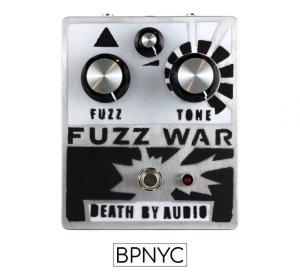 画像1: DEATH BY AUDIO   FUZZ WAR