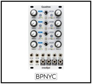 画像1: Intellijel Quadrax Quad Function/Burst Generator/LFO with CV Matrix