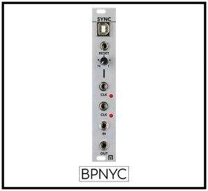 画像1: Malekko SYNC - 4HP USB/MIDI Sync Module