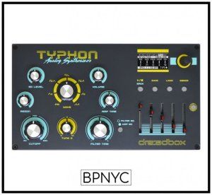 画像1: Dreadbox TYPHON Analog Synthesizer プリオーダー