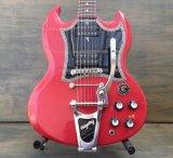 Gibson SG w/Bigsby B3 & Towner Down Tension Bar, Decoboom Streamline Pickguard Set 売却済