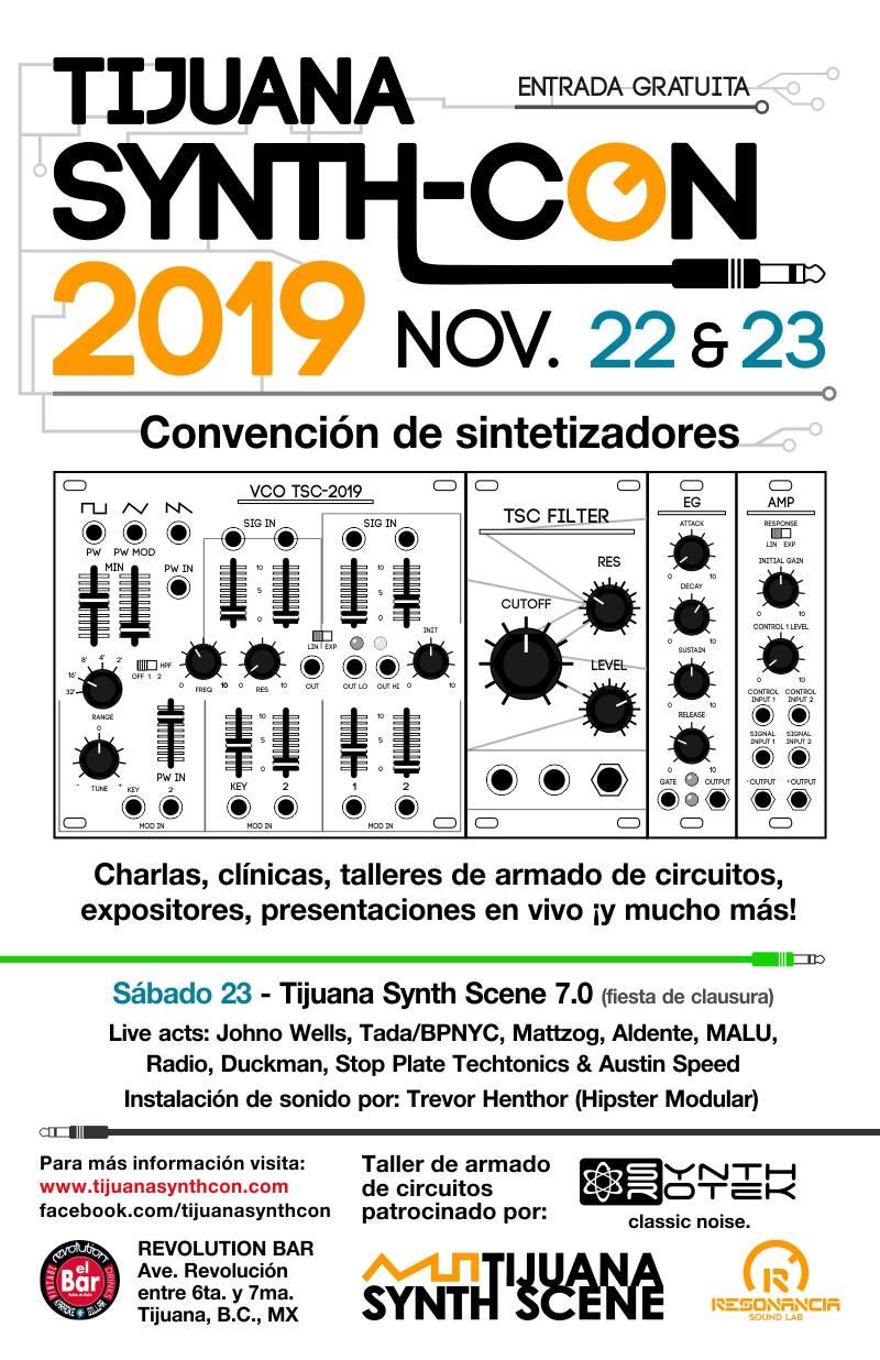 Tijuana Synth-Con / ティファナ シンセサイザー コンベンション
