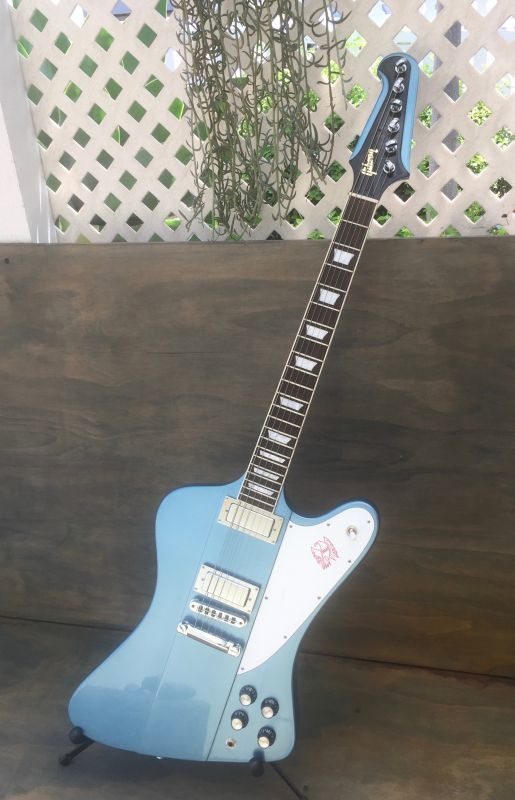 Gibson Firebird T 2017 ギブソン ファイヤーバード Pelham Blue 入荷!