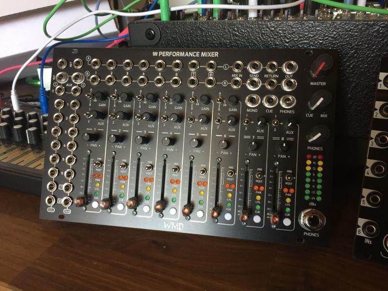 WMD Performance Mixer... 遂に黒で出荷開始!