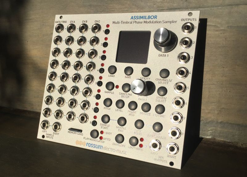 """Rossum Electro """"Assimil8or"""" multi-timbral phase modulation sampler 再入荷"""