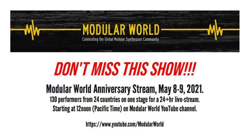 """Modular World Anniversary Stream"" 2021年5月8日~9日に開催!!!"