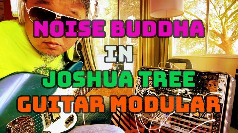 NOISE BUDDHA in Joshua Tree - ギターモジュラー(スペースギターオーケストレーション)
