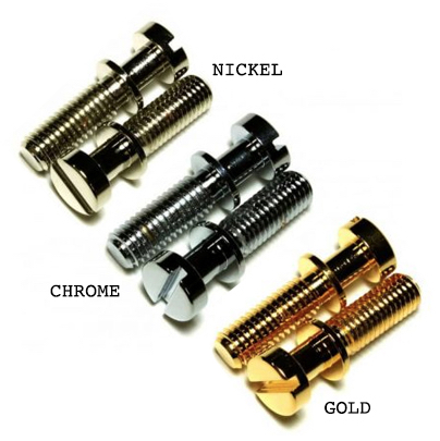 Replacement METRIC Nickel Tailpiece Mounting Studs no anchors